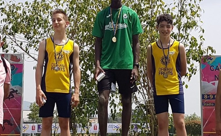 Latena Cervone campione nazionale Uisp di Triathlon ragazzi