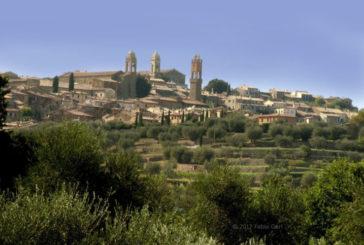 A Montalcino tagliolini di castagne e piccione glassato per onorare il Brunello