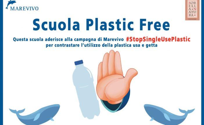 """Il Monna Agnese e' """"scuola plastic free"""""""