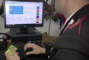 Truffa via Internet: i Carabinieri rintracciano e denunciano un 40enne