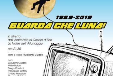 """""""Guarda che Luna"""": a Casole a 50 anni dall'allunaggio"""