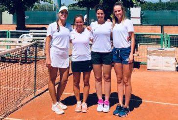 Tennis: le ragazze della D1 sconfitte a Livorno