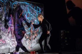 """Chigiana: """"Sound and action painting"""" in Sant'Agostino"""