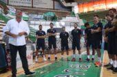 Volley: primo allenamento per il team biancoblu