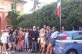 Gli studenti canadesi incontrano la Polizia di Siena