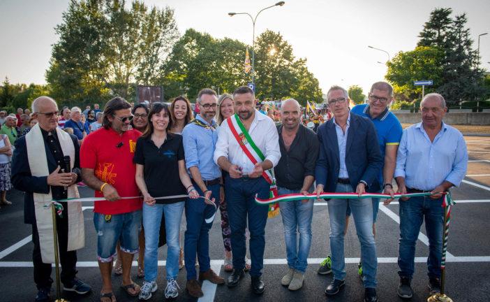 Chiusi: Inaugurato il parcheggio e il parco giochi di Piazza XXVI Giugno
