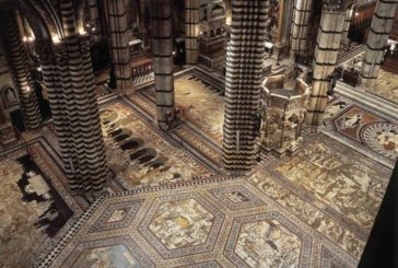 La Cattedrale mostra il suo magnifico pavimento