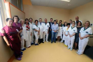 Nuova area per fisiopatologia e riabilitazione respiratoria