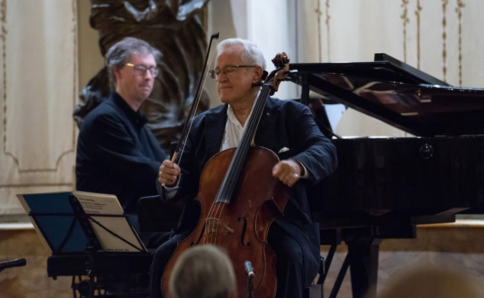 Il duo Geringas/Fountain in concerto alla Chigiana