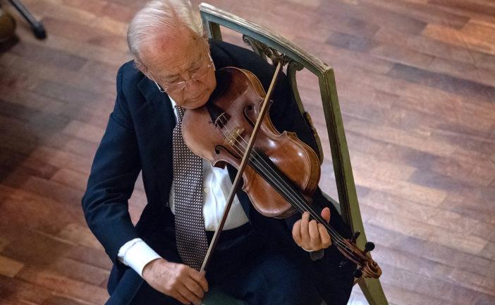 """La """"Legend"""" Bruno Giuranna, in trio con due allievi della Chigiana"""