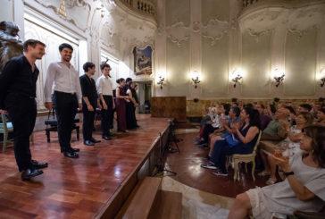 In concerto a Palazzo Chigi i violinisti allievi della classe diBoris Belkin