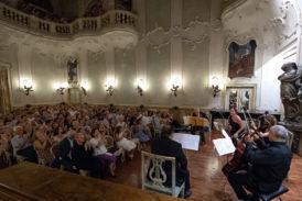 Salvatore Accardo e gli Amici della Chigiana in concerto a palazzo