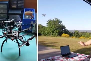Il Sarrocchi al Maker Faire con il Leap drone