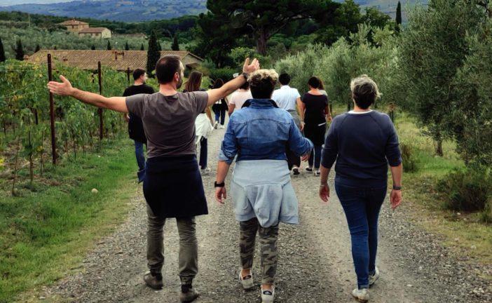 Cucina e vendemmia: manager da tutta Italia a confronto nelle colline senesi