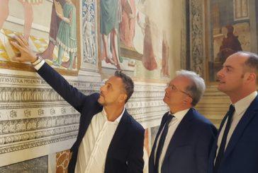 San Gimignano: al via i restauri degli affreschi di Benozzo Gozzoli