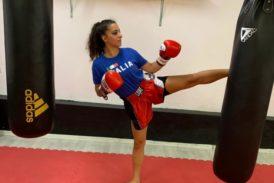 Clara D'anna in nazionale Fight1 per i Mondiali ISKA 2019