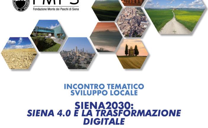 SIENA 4.0 e la trasformazione digitale: primo incontro in Fondazione Tls
