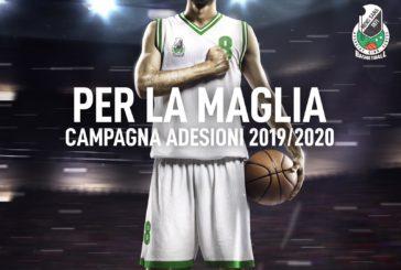"""""""Per la maglia"""":via alla campagna di adesione a Mens Sana Basketball"""