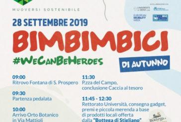 Bimbimbici d'Autunno: per celebrare la Settimana europea della Mobilità