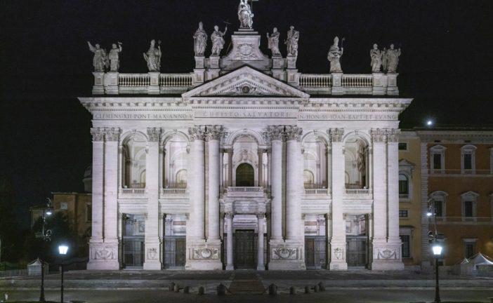 ROMA: NUOVA ILLUMINAZIONE PER LA BASILICA DI SAN GIOVANNI IN LATERANO