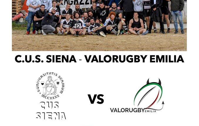 Il Cus Siena Rugby inizia in casa il campionato di Serie B