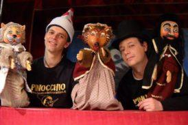 Arriva a Chianciano Terme Pinocchio, un burattino contro il bullismo