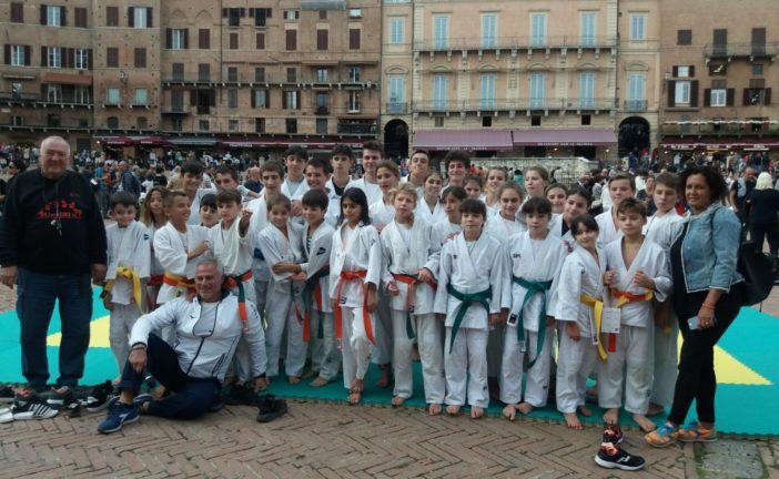 L'assessore Buzzichelli al Judo Day 2019