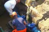 Intervento di manutenzione all'acquedotto aPiancastagnaio