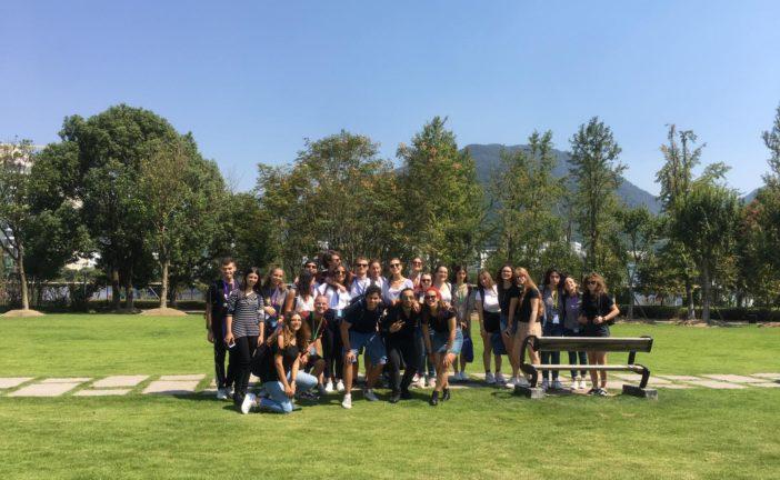 Studenti di lingue in Cina con borse di studio della Wenzhou University