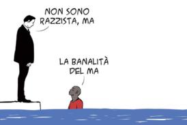 """Mauro Biani presenta al Politeama""""La banalità del ma"""""""