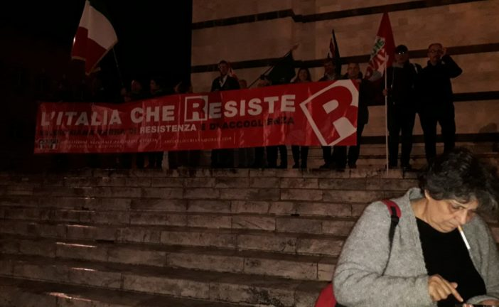 "Manifestazione ""antifà"" a Siena per dire ""no"" all'eversione"