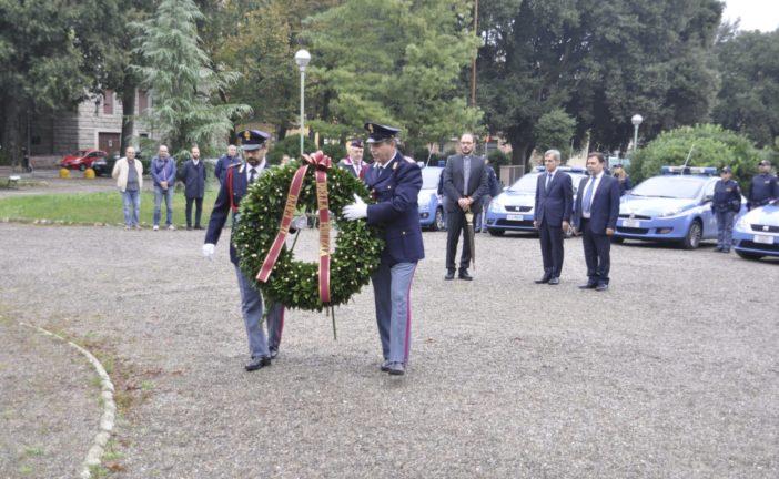 Siena: la Polizia ha ricordato i propri caduti
