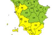 Maltempo: prolungato alla mezzanotte del 21 novembre l'allerta giallo