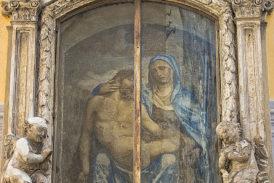 La Pantera presenta il restauro della Madonna del Corvo