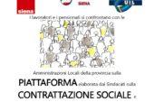 CGIL CISL UIL su contrattazione sociale: appuntamento in Valdelsa