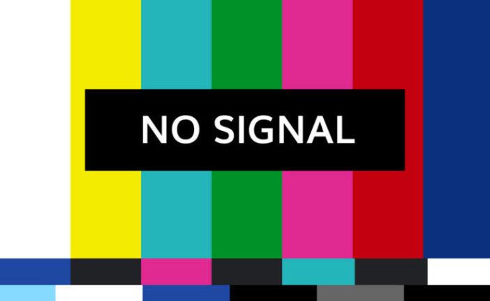 Dal 9 al 13 dicembre interventi di manutenzione sul segnale tv