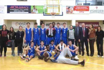 """Torneo di basket """"Bruno Casini"""": il Sarrocchi alza il trofeo"""