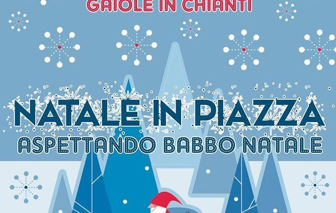Natale in piazza a Gaiole in Chianti