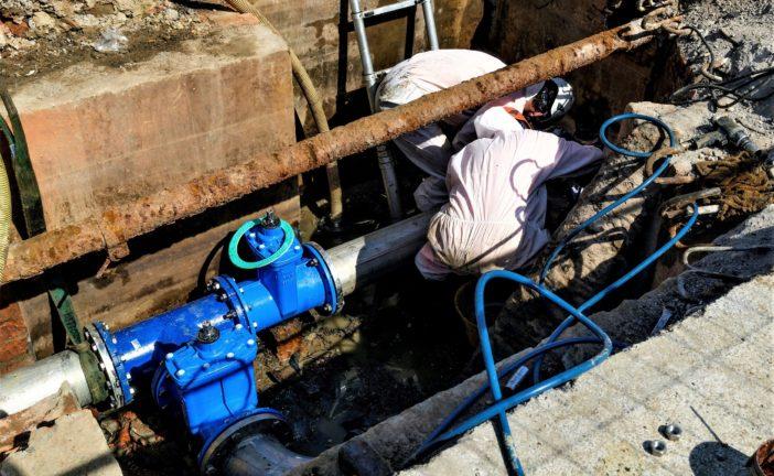 Siena:  lavori di manutenzione all'acquedotto