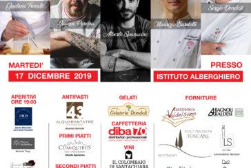 Al Ricasoli di Colle una cena di beneficenza con chef stellati