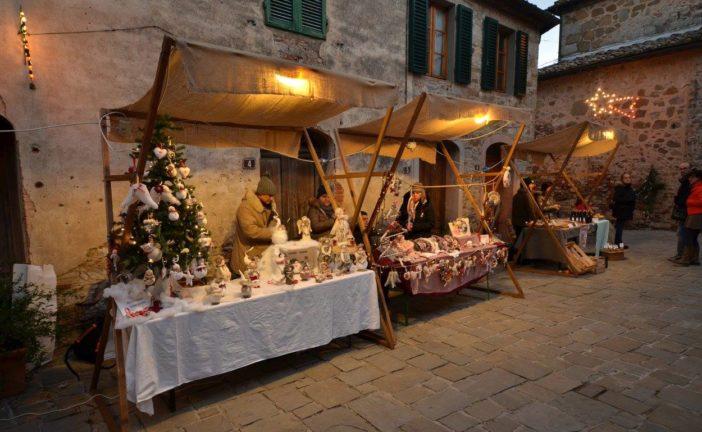 Castelnuovo: i Mercatini di Natale fanno tappa a San Gusmè