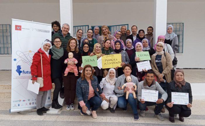 Operatori della Ausl SE in Tunisia per formare sulla rianimazione neonatale