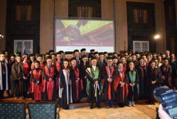 Unisi: consegnato il tocco ad 80 professori