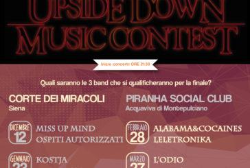 Al via la prima edizione dell'Upside Down Music Contest