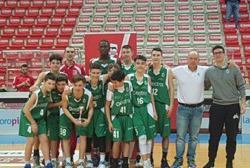 Gli U14 della Mens Sana Basketball trionfano a Piacenza