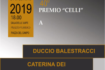 40° Premio Celli: tre premiati per questa speciale edizione