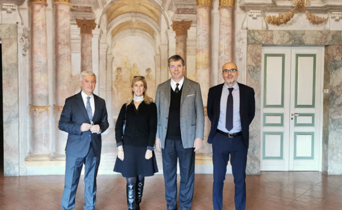 L'ambasciatore italiano a Panama in visita in Fondazione Mps
