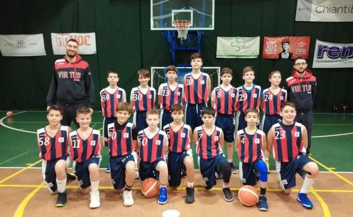 Virtus: gli Esordienti vincono il Torneo della Befana a Firenze