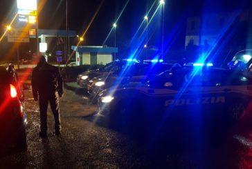 Controlli della polizia nel sabato sera senese. Beccato un ubriaco alla guida