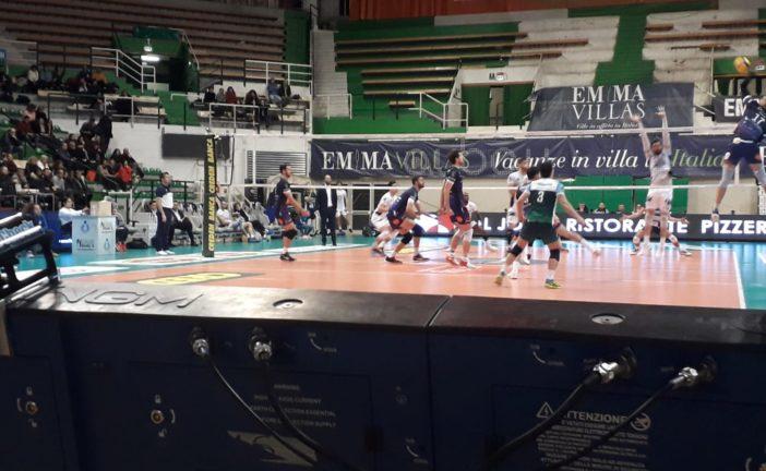Volley: prima sconfitta casalinga per Siena